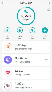 fitbit pro tracking app review